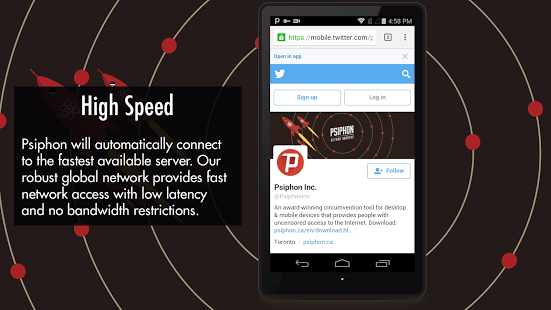 psiphon pro is faster than before!