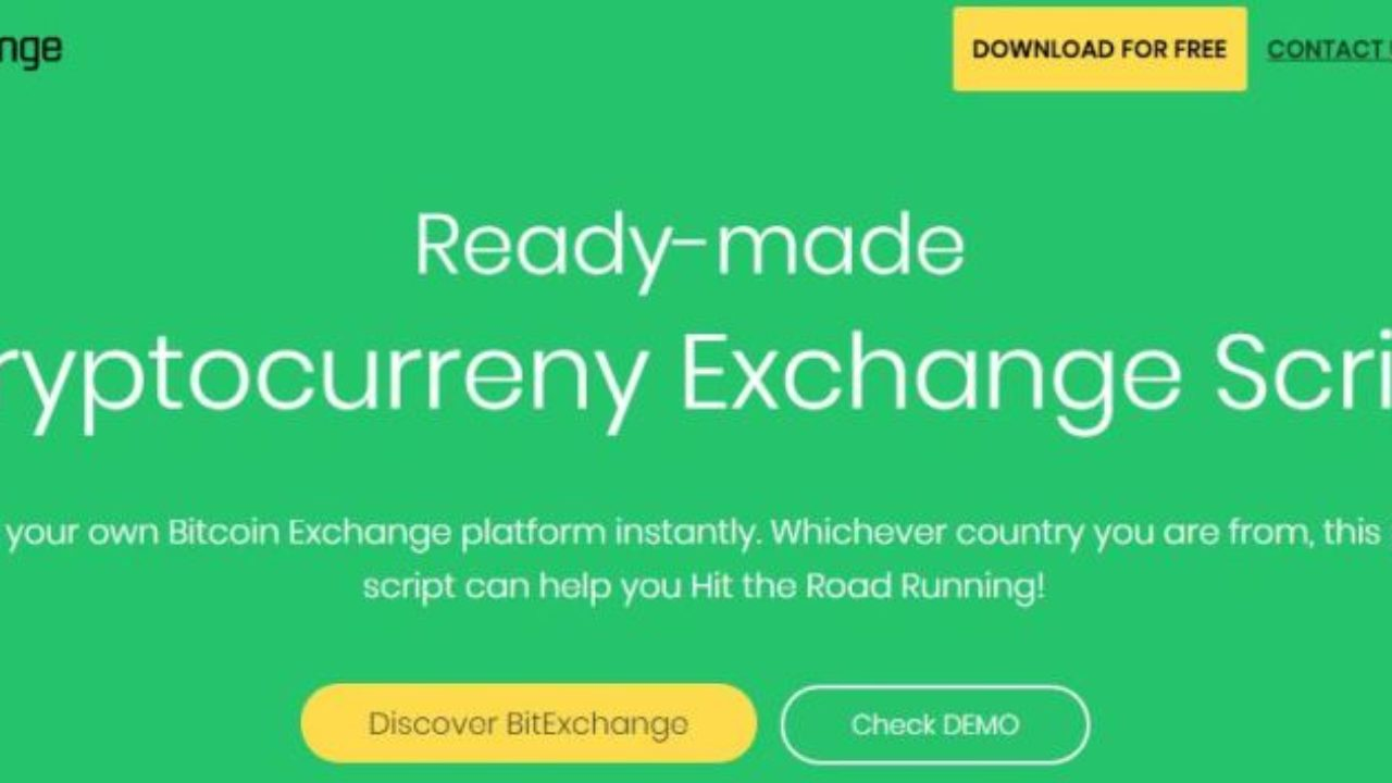 cryptocurrency trading platform script